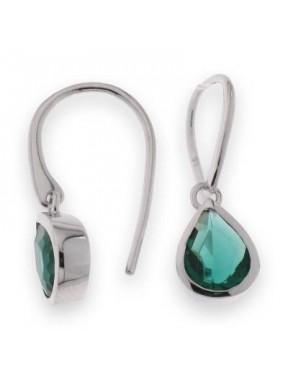 Pendientes Emerald Drop