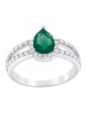 Anillo Goccia Emerald