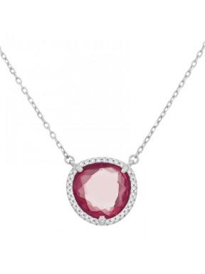 Collar Simplicity Garnet