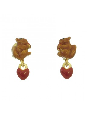 Pendientes Squirrel Heart