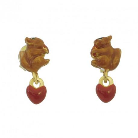 Pendientes Squirrel Heart